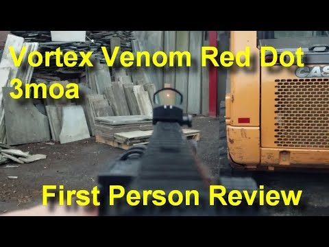 Vortex Venom Red Dot 3MOA - First Person Review
