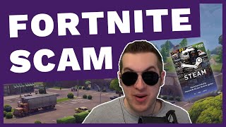 Acheter Fortnite with Steam Gift Cards?