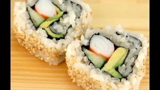 How To Make Sushi - California Rolls