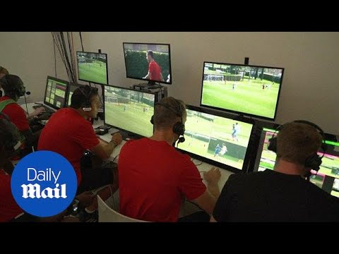 Referees train with VAR technology ahead of World Cup - Daily Mail