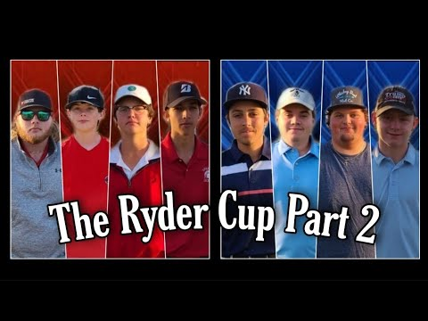 WHO WILL WIN??? THE RYDER CUP PART 2