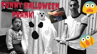 Halloween Prank Gone Too Far on Yusuf!! Poor Baby ????