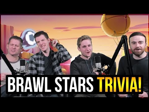 Brawl Stars TRIVIA with Rey, Lex, and KairosTime in Supercell HQ!