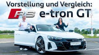 Werbefilm: Audi RS e-tron GT DRAGRACE Audi RS6 Avant