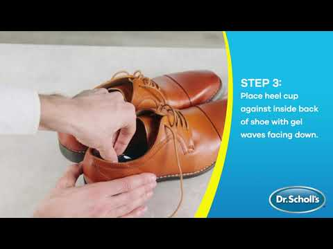 Dr. Scholl's | How To Use Heel Cups