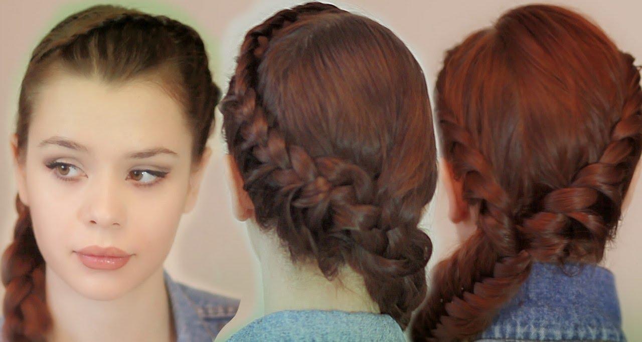 Прически для подростков на средние волосы
