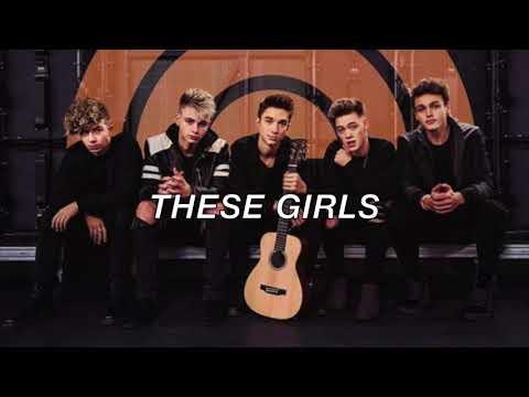 Why Don't We - These Girls (Acoustic) (Lyrics)