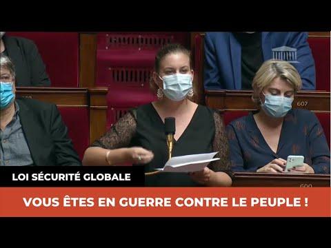 LOI SÉCURITÉ GLOBALE : VOUS ÊTES EN GUERRE CONTRE LE PEUPLE !