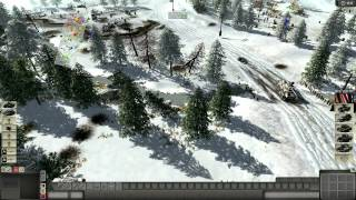 Men of War Assault Squad - CoOp - USA - Battle of the Bulge (1080p)