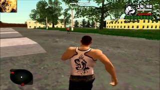 Обзор на игру GTA San Andreas Криминальная Россия Beta 2 HD