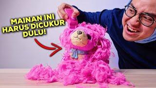 MAINAN TERBARU INI HARUS DICUKUR?! | SCRUFF-A-LUVS CUTIE CUTS PINK UNBOXING & REVIEW