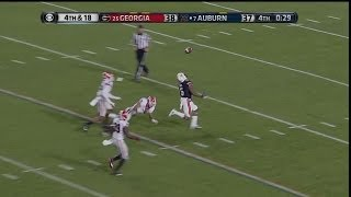 Repeat youtube video Auburn vs. Georgia 2013 - Winning TD (Auburn Announcers)