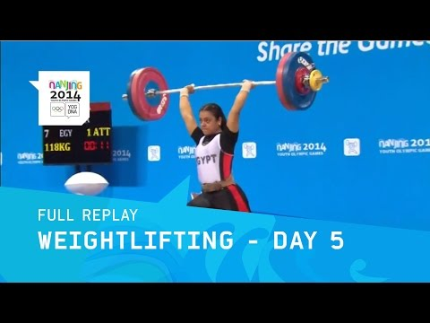 Weightlifting - Women -63 kg Final | Full Replay | Nanjing 2014 Youth Olympic Games