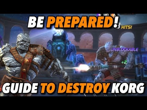 Top 5 Champions To Counter Korg | Marvel Contest of Champions