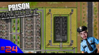 ALA DE SEGURANÇA SUPERMAX!!! ? - PRISON ARCHITECT #24 - (Gameplay/PC/PTBR) HD