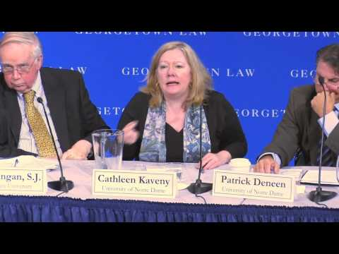 Cathleen Kaveny and Patrick Deneen on Catholic Human Rights Discourse and the HHS Mandate