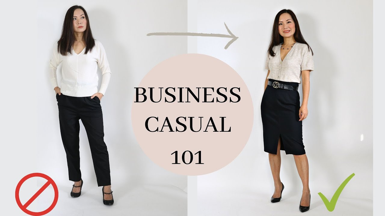 What to wear for business casual (and why you may be doing it wrong)