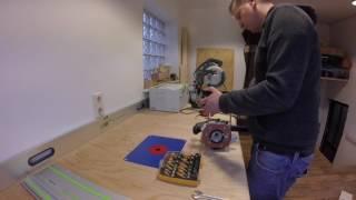 Werkstatt Update: Fräsplatte, T-Schienen und die Multifunktionslöcher