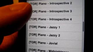 Piano ringtones for iPhone