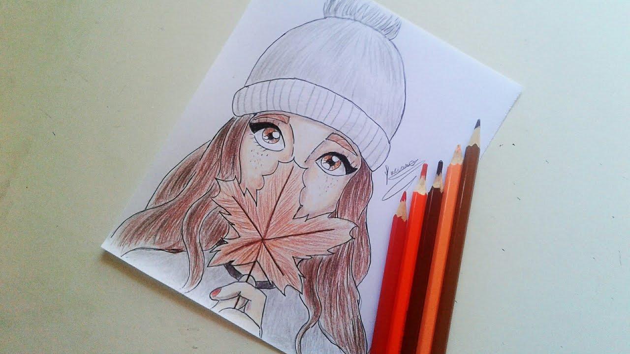 Como Desenhar Garota Tumblr Passo A Passo Youtube