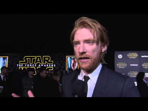 "Star Wars - The Force Awakens: Domhnall Gleeson ""General Hux"" Red Carpet Interview"