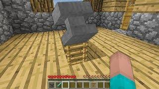 НУБ ПОСТРОИЛ ДОМ ПОД НАКОВАЛЬНЕЙ В Майнкрафте! Minecraft Мультики Майнкрафт троллинг Нуб и Про