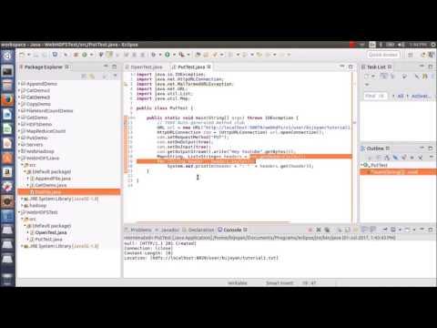 Hadoop Tutorials: WebHDFS REST API Using Java