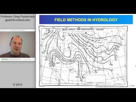 Field Methods in Hydrology, Chapter 18- Evapotranspiration Measurement
