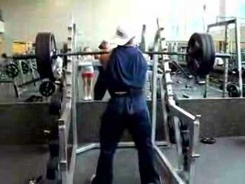 Travis Cadenhead front squat