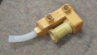 Shopvac Hose Wood Adaptor - Dust Collection
