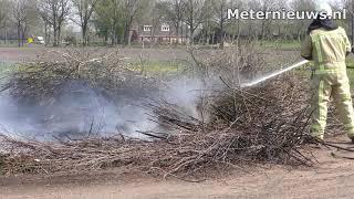 Paasbult brandt  af in Deurze