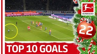 Schweinsteiger, Götze & Co. - Top 10 Christmas Goals - Bundesliga 2019 Advent Calendar 22