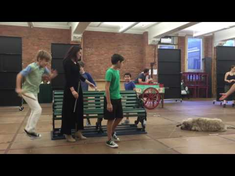 FINDING NEVERLAND - A NEW BROADWAY MUSICAL (North American Tour rehearsal!)