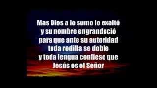 jesus es el señor con letra