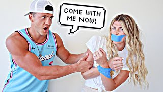 Kidnapping My Fiance At Her Bachelorette Party!! *Prank*
