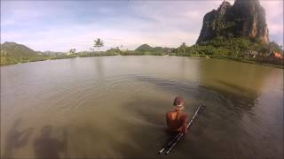 200lb+ Arapaima Caught at Jurassic Mountain Fishing Resort Thailand