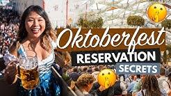 OKTOBERFEST RESERVATION GUIDE 2020 | Secret Tips for Oktoberfest 'Tickets' in Munich!