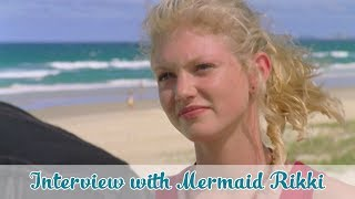 interview with mermaid rikki h2o just add water official h2o channel