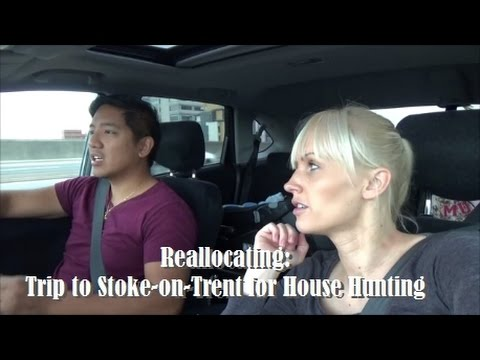 Reallocating: Trip to Stoke-on-Trent for House Hunting
