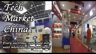 Electronics market haul. Wholesale nothing fake! Guangzhou China.