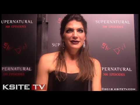 Genevieve Padalecki  Supernatural Episode 300 Carpet  Ruby