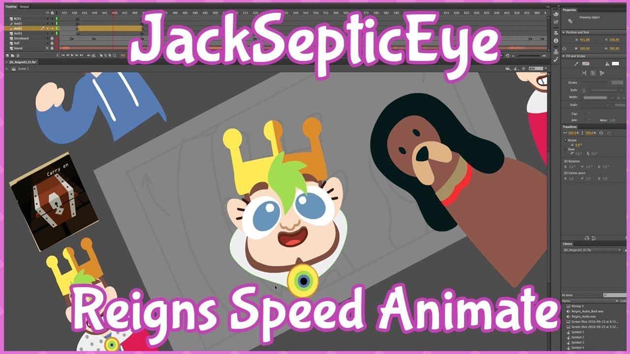 Download Behind the Scenes: JackSepticEye KING JACK Speed Animate