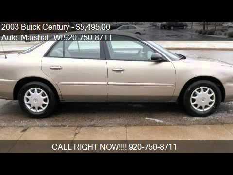2003 Buick Century Custom - for sale in Appleton, WI 54915