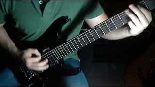 Candlebox -  Far Behind Solo - Guitar Cover by Juan Tobar