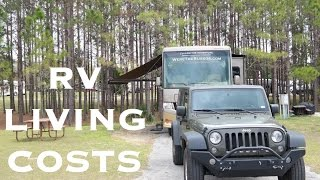 Cost to Live in an RV Full Time | RV Living Costs