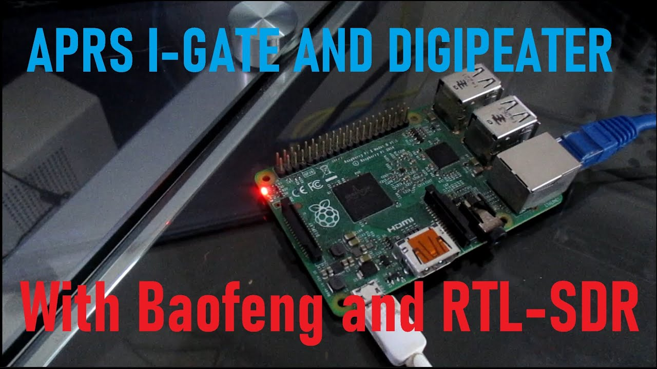 Download APRS I-Gate and Digipeater with Baofeng and RTL-SDR
