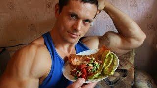 Питание на пределе натуральной сушки. Набор мышц без жира.