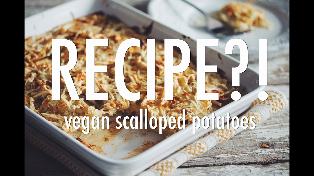 Vegan scalloped potatoes recipe ep 3 hot for food youtube vegan scalloped potatoes recipe ep 3 hot for food forumfinder Images