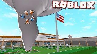 Roblox Adventures - TORNADO DESTROYS THE PRISON! (Roblox Jailbreak)