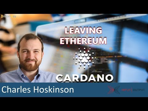 Cardano Q&A: Why did Charles leave Ethereum? - Charles Hoskinson IOHK